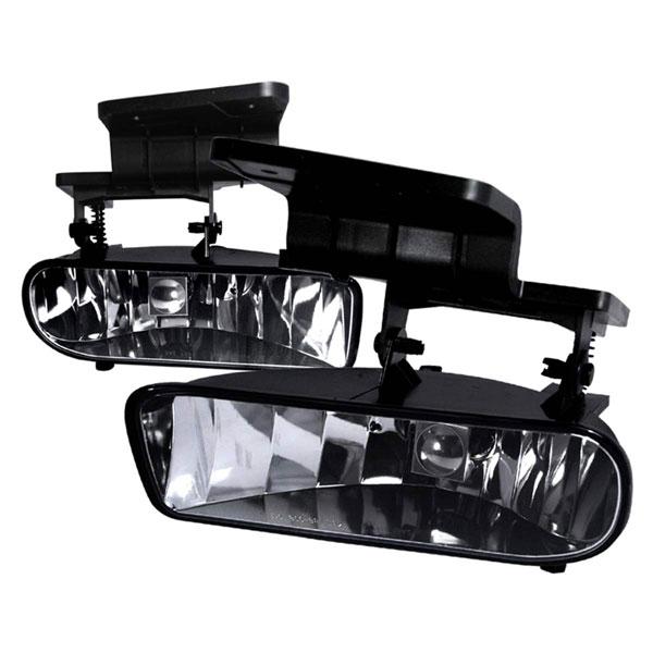 Spec-D Tuning LF-SIV99COEM-APC   Spec-D Silverado Fog Lights - Clear; 1999-2002