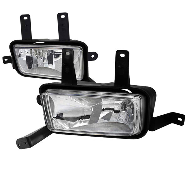 Spec-D Tuning (LF-TAH15COEM-DL)  Gmc Tahoe Clear Foglights With Wiring Kit, 15-Up