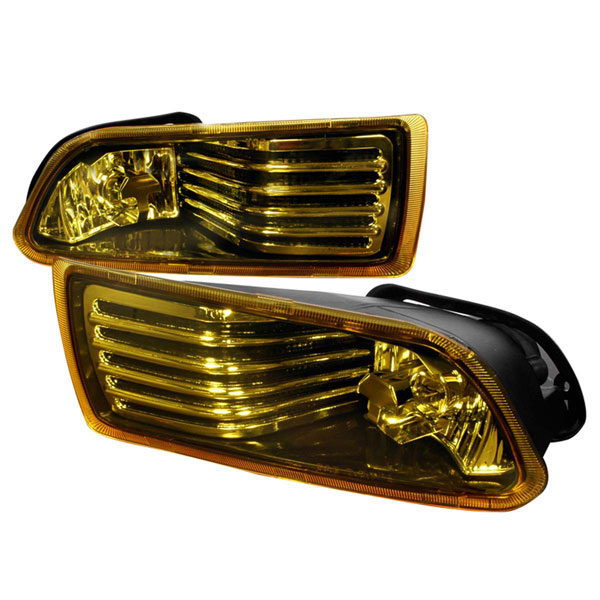 Spec-D Tuning LF-TC05AM-WJ: Spec-D 04-09 Scion Tc Oem Fog Lights - amber