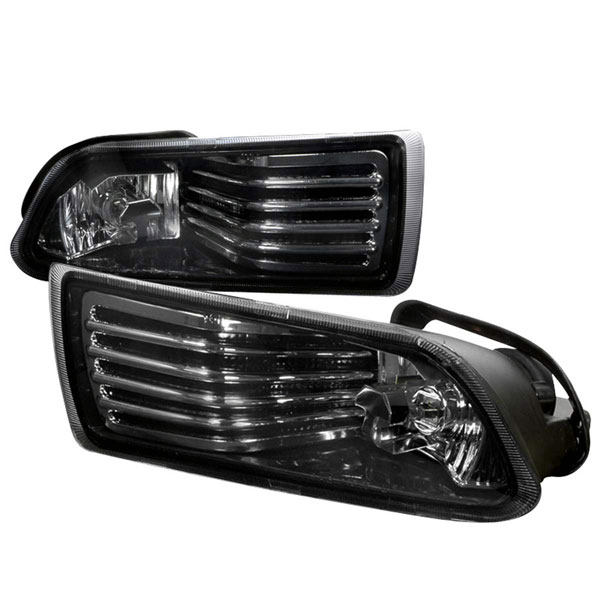 Spec-D Tuning LF-TC05G-WJ: Spec-D 04-09 Scion Tc Oem Fog Lights - Smoke