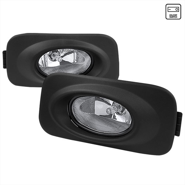 Spec-D Tuning LF-TSX04COEM-HZ |  Acura Tsx Clear Fog Lights With Wiring Kit; 2004-2005