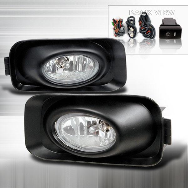 Spec-D Tuning LF-TSX04OEM   Spec-D Acura Tsx Oem Fog Lights; 2004-2005
