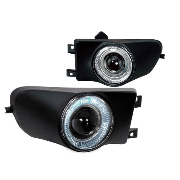 Spec-D Tuning LFP-E3997H-YL | Spec-D 97-00 Bmw E39 Halo Projector Fog Lights