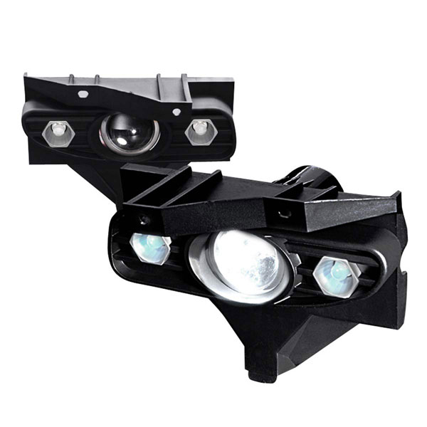 Spec-D Tuning LFP-MST99-YL: Spec-D 99-04 Ford Mustang Projector Fog Lights V8