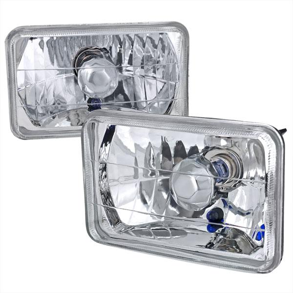 Spec-D Tuning LH-4X6 | Spec-D 4x6 Headlights - Crystal; 1950-2011