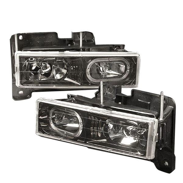 Spec-D Tuning LH-C1088HJM-KS | Spec-D 88-98 C10 Full Size Halo Headlight