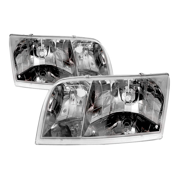 Spec-D Tuning LH-VIC98-APC: Spec-D 98-05 Ford Crown Victoria Headlights
