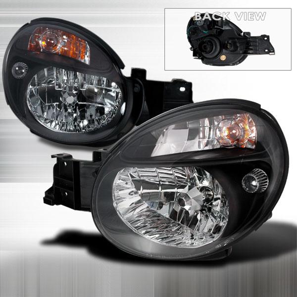 Spec-D Tuning LH-WRX02JM-KS | Spec-D Subaru Wrx Jdm Black Headlights; 2002-2003