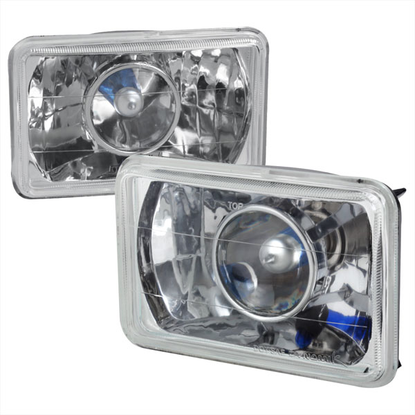 Spec-D Tuning LHP-4X6: Spec-D 4 X 6 Projector Headlights