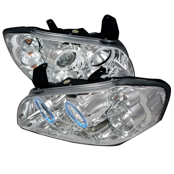 Spec-D Tuning LHP-MAX00-KS | Spec-D Nissan Maxima Projector Headlights; 2000-2001