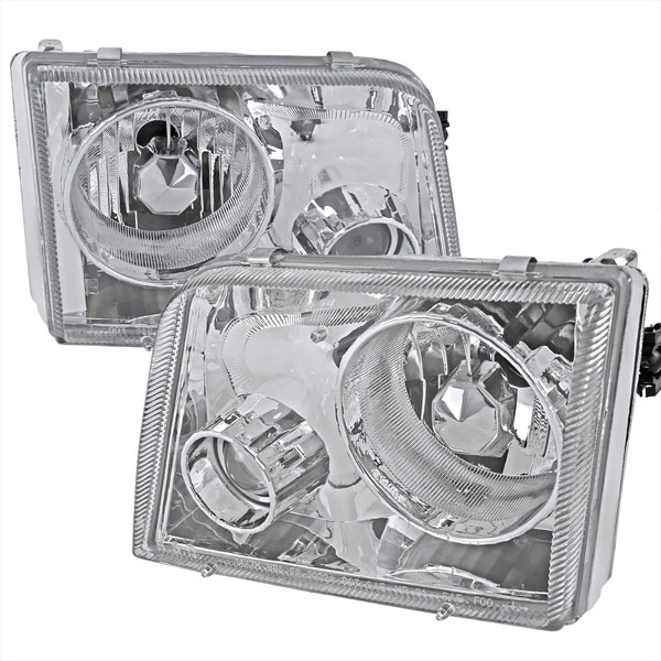 Spec-D Tuning LHP-RAN93-APC | Spec-D 93-97 Ford Ranger Projector Headlights