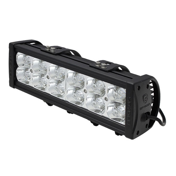 xTune LLB-SP-10SPOT-36W-C   xTune xTune 10 Inch 12pcs 3W LED 36W (SPOT) LED Bar - Chrome; 2000-2014