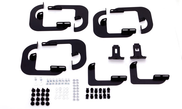 Lund 318039 | Nerf Bar Step Bracket Kit for Chevrolet Silverado 3500 HD; 2015-2018