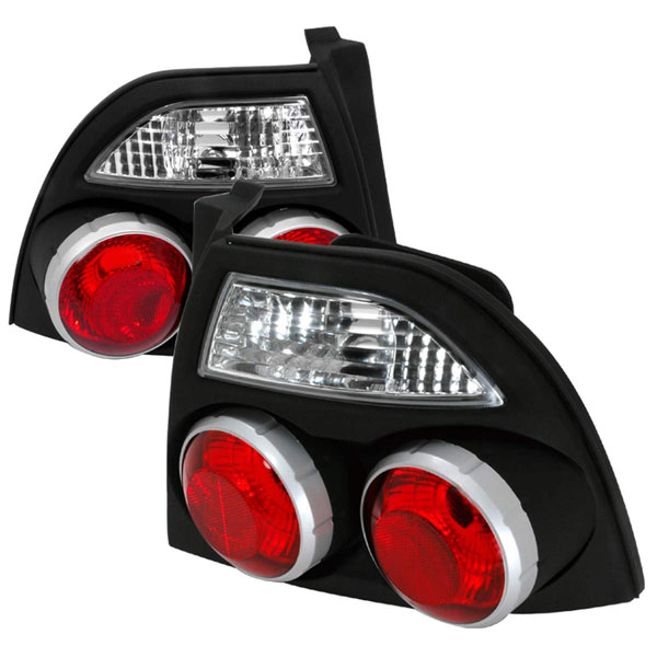 Spec-D Tuning LT-ACD94JM-GN: Spec-D 94-95 Accord Jdm Skyline Taillights - Black (lt-acd94jm-gn)