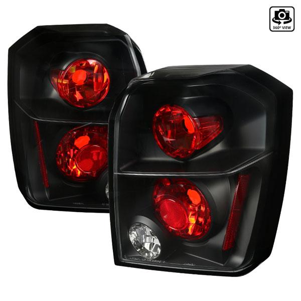 Spec-D Tuning LT-CAL06JM-TM | Spec-D Dodge Caliber Taillights - Black (Lt-Cal06jm-Tm); 2006-2010