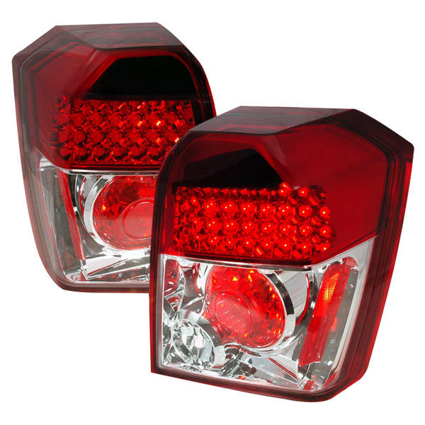 Spec-D Tuning LT-CAL06RLED-TM: Spec-D 06-07 Dodge Caliber Led Taillights - (lt-cal06rled-tm)