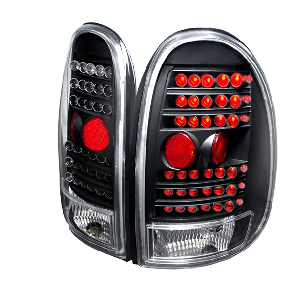 Spec-D Tuning LT-CAR96JMLED-KS: Spec-D 96-00 Dodge Caravan Led Taillights (lt-car96jmled-ks)