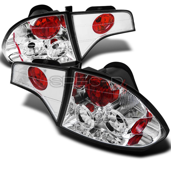 Spec-D Tuning LT-CV064-TM: Spec-D 06-07 Honda Civic 4d Taillights 4pc (Lt-Cv064-Tm)