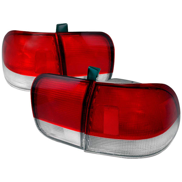 Spec-D Tuning LT-CV964RPW-DP: Spec-D 96-98 Honda Civic 4dr Taillights (lt-cv964rpw-dp)
