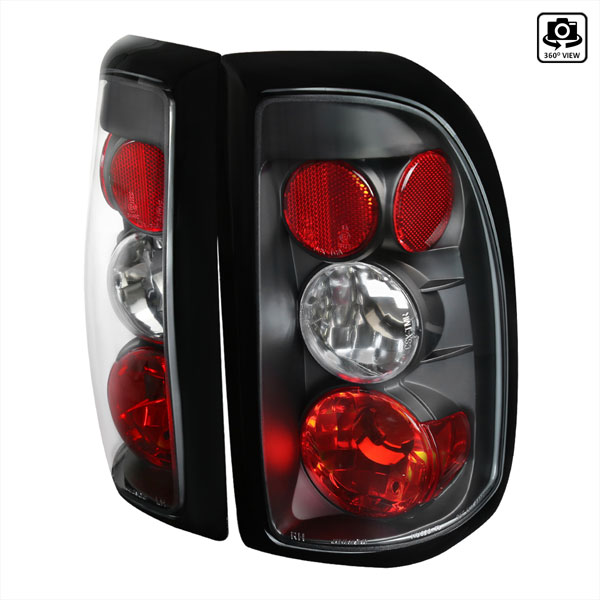 Spec-D Tuning LT-DAK97JM-TM: Spec-D 97-04 Dodge Dakota Altezza Taillights (lt-dak97jm-tm)