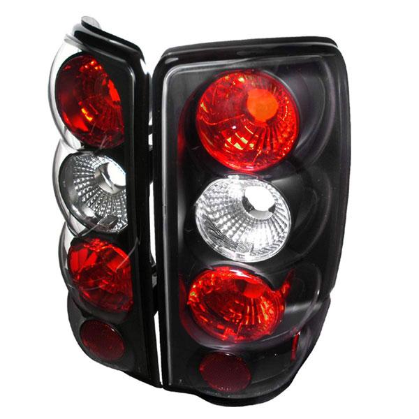 Spec-D Tuning LT-DEN00JM-TM | Spec-D Chevrolet Suburban / Tahoe & 00-06 Gmc Yukon / Denali 00-06 Taillights Black Housing Euro Altezza