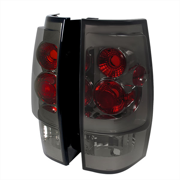 Spec-D Tuning (LT-DEN07G-TM)  Gmc Denali Altezza Tail Light Smoke, 07-10