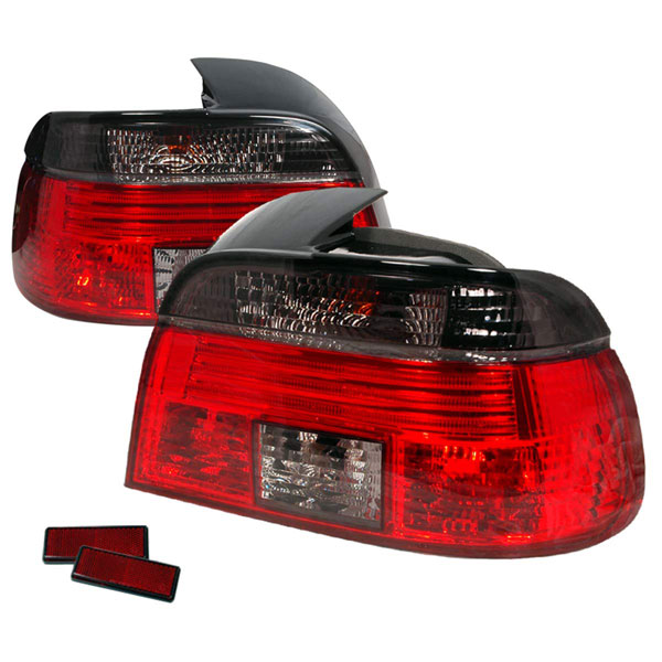 Spec-D Tuning LT-E394G-APC: Spec-D 99-03 Bmw E39 4dr Taillights -smoke Red (lt-e394g-apc)