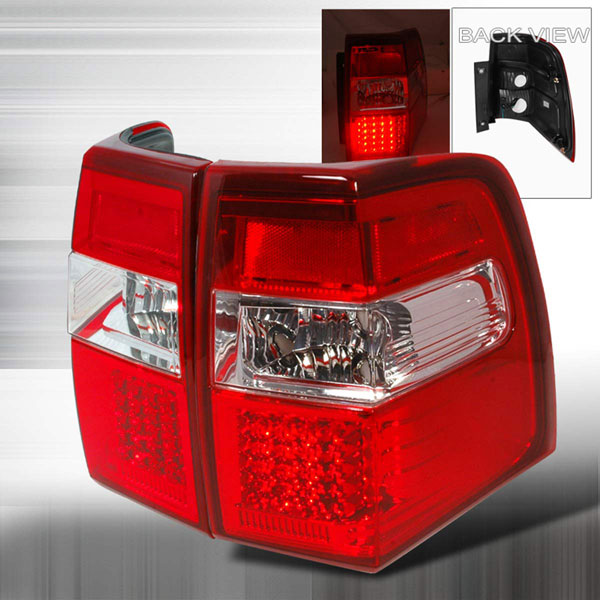 Spec-D Tuning LT-EPED07RLED-KS: Spec-D 07-up Ford Expedition Led Taillights (lt-eped07rled-ks)