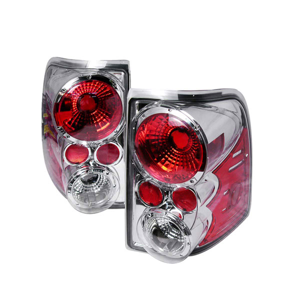 Spec-D Tuning LT-EPOR02-KS: Spec-D 03-up Ford Explorer Taillights - Chrome (lt-epor02-ks)