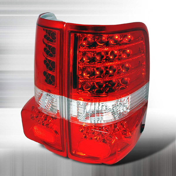 Spec-D Tuning LT-F15004RLED-KS: Spec-D 04-up Ford F-150 Taillights Led (lt-F-15004rled-ks)