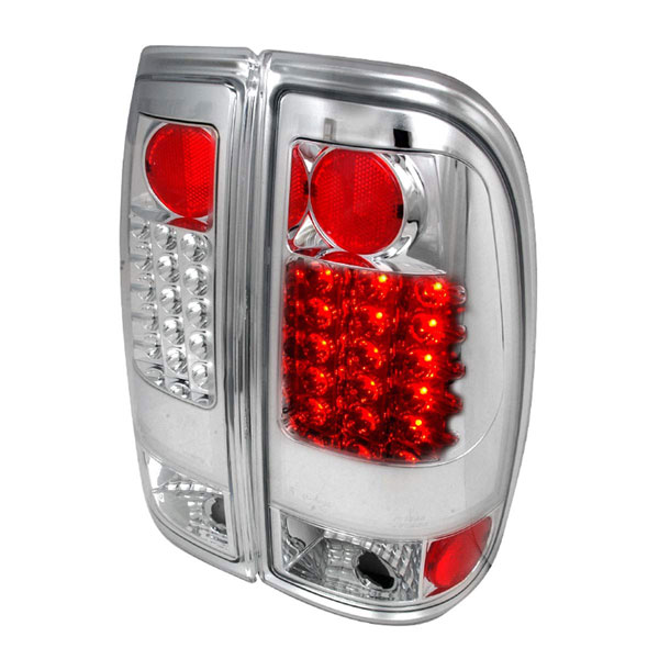 Spec-D Tuning LT-F15097CLED-TM: Spec-D 97-03 Ford F-150 Styleside Led Taillight (lt-F-15097cled-tm)