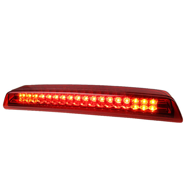 Spec-D Tuning LT-FRO01RBRLED-SY |  Nissan Titan Red Led Third Brake Light; 2004-2015