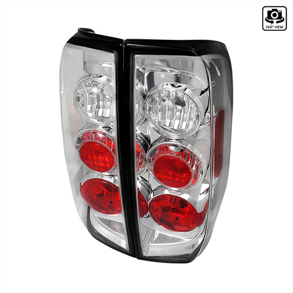 Spec-D Tuning LT-FRO05-TM |  Nissan Frontier Altezza Tail Light Chrome; 2005-2012