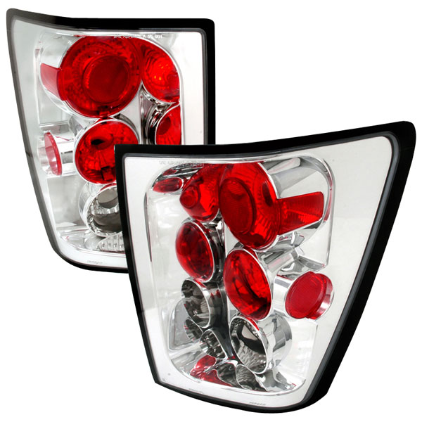 Spec-D Tuning LT-GKEE04-TM |  Jeep Grand Cherokee Altezza Tail Light Chrome; 2005-2006