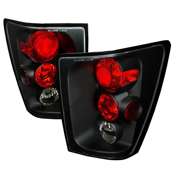 Spec-D Tuning LT-GKEE04JM-TM |  Jeep Grand Cherokee Altezza Tail Light Black, 05-06