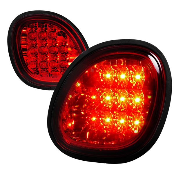 Spec-D Tuning LT-GS30098RLED-TMX |  Lexus Gs300 Led Tail Lights Red Trunk Piece, 98-05