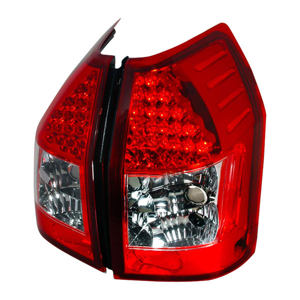 Spec-D Tuning LT-MAG05RLED-KS: Spec-D 05-06 Dodge Magnum Led Taillights - Ks (lt-mag05rled-ks)