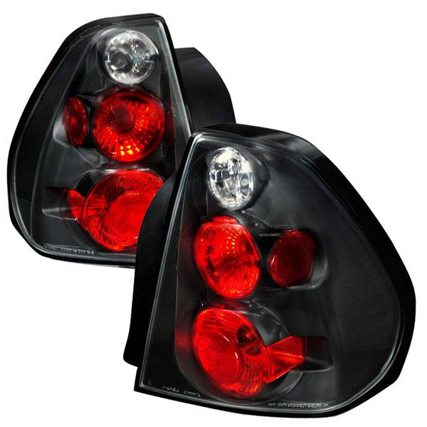Spec-D Tuning LT-MBU04JM-TM |  Chevrolet Malibu Altezza Tail Light Black, 04-06