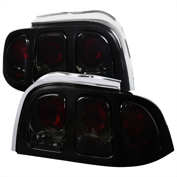 Spec-D Tuning LT-MST94G-APC |  Ford Mustang Altezza Tail Light Smoke; 1994-1998