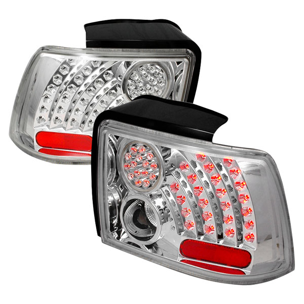 Spec-D Tuning LT-MST99CCLED-WJ: Spec-D 99-04 Ford Mustang Led Taillights (Lt-Mst99ccled-Wj) V6
