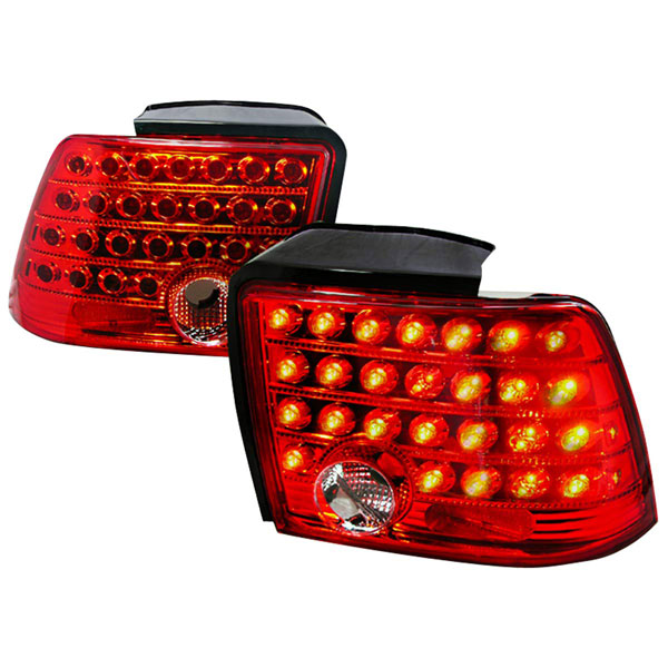 Spec-D Tuning (LT-MST99RLED-KS) Spec-D 99-04 Ford Mustang Led Taillights (Lt-Mst99rled-Ks) V6