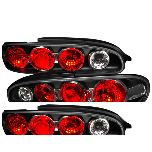 Spec-D Tuning LT-MX693JM-TM |  Mazda Mx6 Altezza Tail Light Black, 93-97