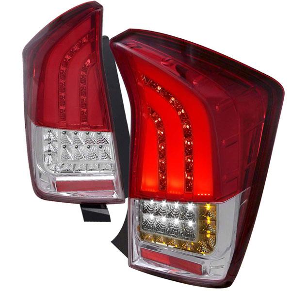 Spec-D Tuning LT-PUS10RLED-V2-TM |  Toyota Prius Toyota Prius Led Tail Lights; 2010-2016