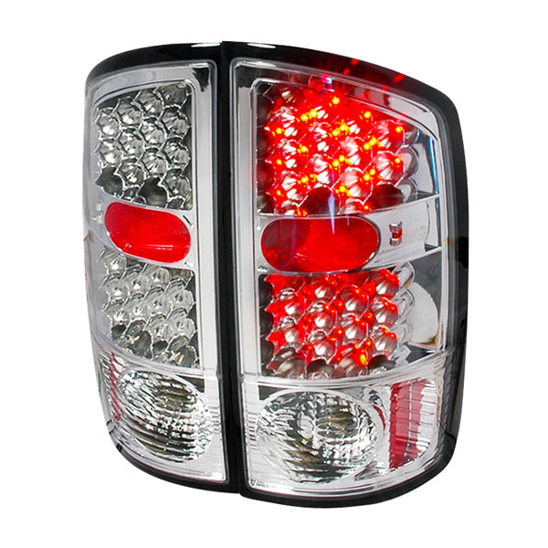 Spec-D Tuning LT-RAM02CLED-KS: Spec-D 02-03 Dodge Ram Led Taillights - Ks (lt-ram02cled-ks)