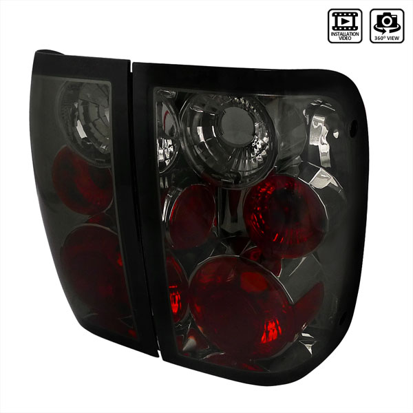 Spec-D Tuning (LT-RAN01G-TM) Spec-D 01-04 Ford Ranger Altezza Taillights - (Lt-Ran01g-Tm)