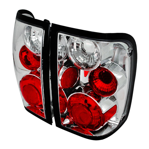 Spec-D Tuning (LT-RAN93-TM)  Ford Ranger Altezza Tail Light Chrome, 93-97