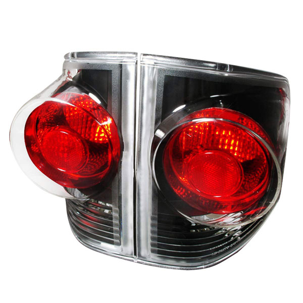 Spec-D Tuning LT-S1094V4JM-KS |  Chevrolet S10 Altezza Tail Lights Black; 1994-2004