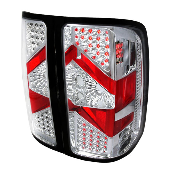 Spec-D Tuning LT-SIE07CLED-DP: Spec-D 07-09 Gmc Sierra Classic Led Taillights (lt-sie07cled-dp)