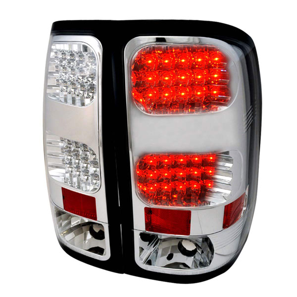 Spec-D Tuning LT-SIE07CLED-TM: Spec-D 07-09 Gmc Classic Sierra Led Taillight (lt-sie07cled-tm)