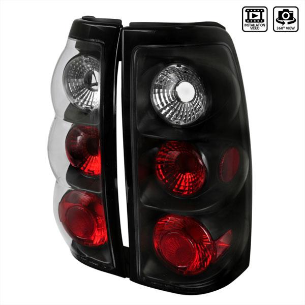 Spec-D Tuning LT-SIV03JM-TM    Silverado Altezza Tail Light Black, 03-06